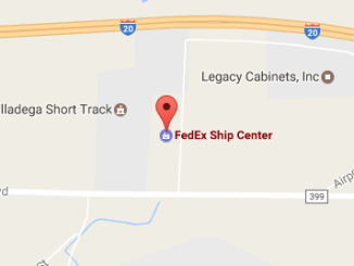Fedex Ship Center Eastaboga, Al Phone Number