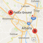 Fedex Ground Albany NY Phone Tracking Package